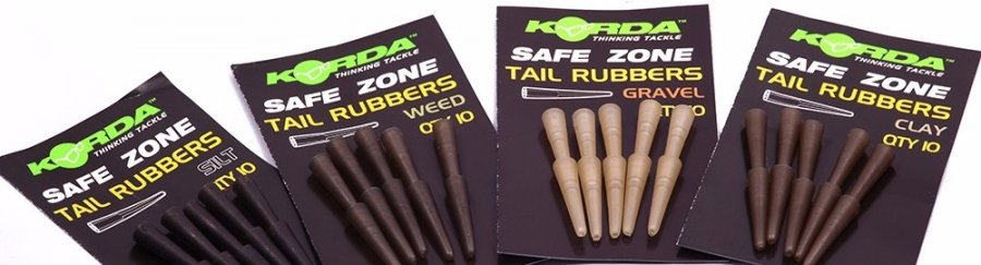 Korda Převlek Rubbers - weedy green, 10 ks