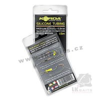 KORDA Hadička SILICON TUBE brown, 0,5 mm - 1,5 m