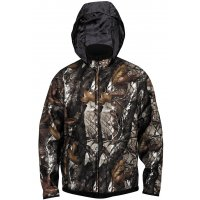 Fleece bunda NORFIN Hunting Thunder Hood Staidness / Černá XL