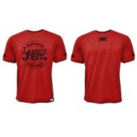 Lucky John triko T-Shirt Red