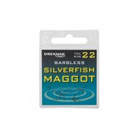 DRENNAN Háčky Silverfish Maggot barbless