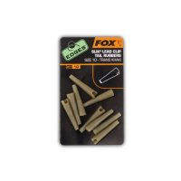 FOX Edges Safety lead clip tail rubbers size 10 khaki