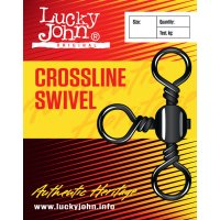 Lucky John obratlíky Crossline Swivels