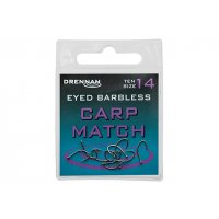DRENNAN Eyed B'less Carp Match vel. 20