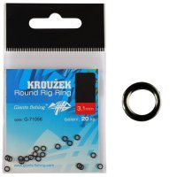 Giants Fishing Kroužek Round Rig Ring 3.7mm/20ks