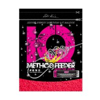 IQ Method Feeder Speed Fluoro Pellets 600g Cherry 2mm