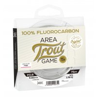 LUCKY JOHN FLUOROCARBON AREA TROUT GAME PINK Line 75m