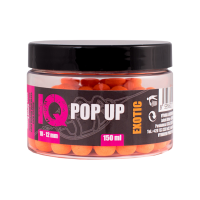 IQ Method Feeder Pop UP Fluoro Boilies 10-12mm,150 ml Exotic