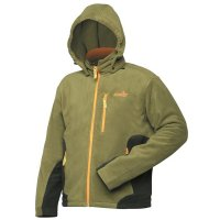Mikina NORFIN OUTDOOR fleece jacket green/zelená XL