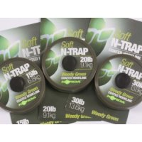 KORDA Šňůrka N-TRAP soft weedy Green 30 lb