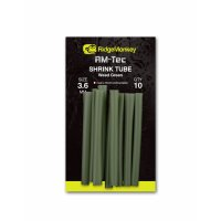 RidgeMonkey smršťovací hadička RM-Tec Shrink Tube 3,6mm Weed Green 10ks